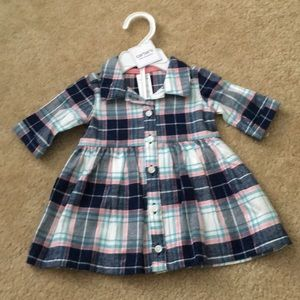 Other - NWOT Carters Flannel Dress